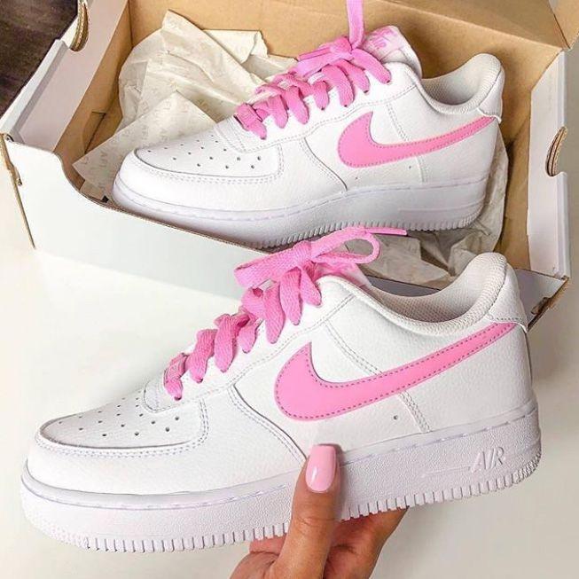 nike air force 1 ragazza rosa