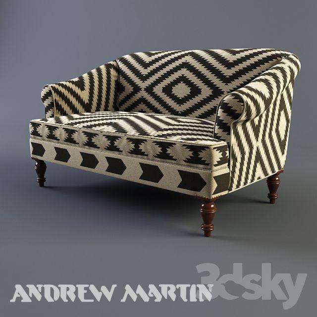 Andrew Martin Kilim Sofa