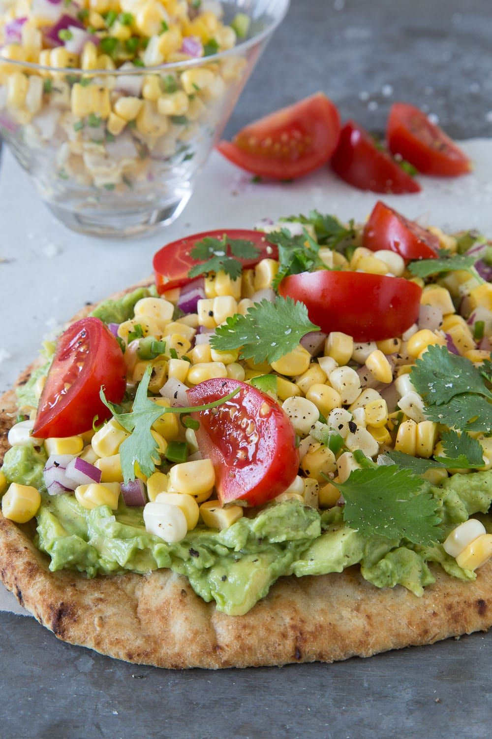 Southwestern Flatbread - What's Gaby Cooking