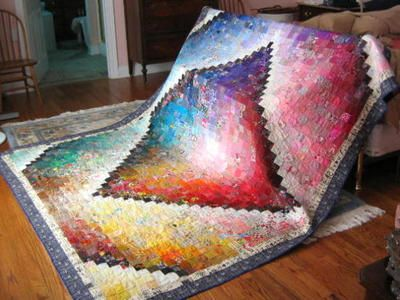 Quilts with Kaleidoscope Patterns