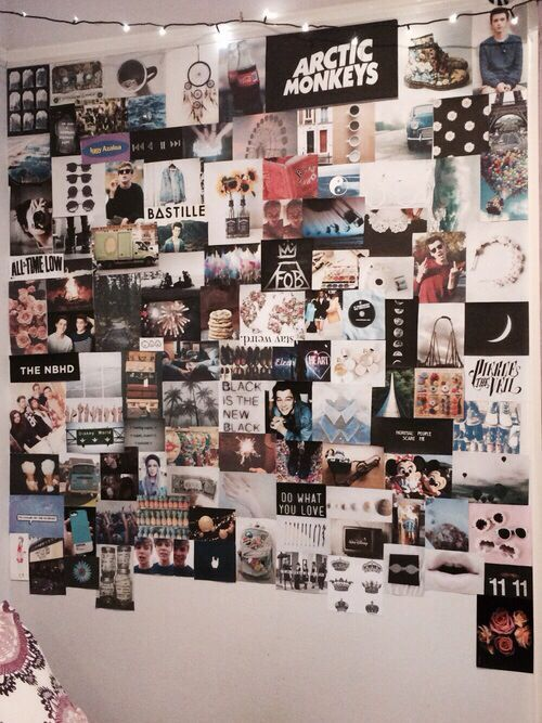 Photo of Collage Wand- – # wandgestaltung