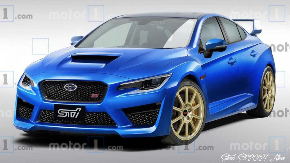 Subaru Sti 2021 News Rumors Mobil Teknologi
