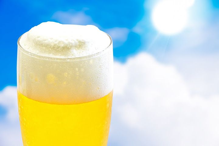 理由があった!ビールが水よりいっぱい飲めるメカニズム!