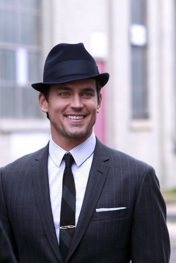 neal caffrey fedora matt in a hat pinterest matt
