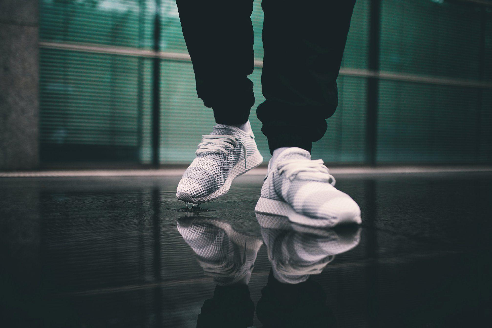 f7239935694 adidas Consortium Deerupt White Grey