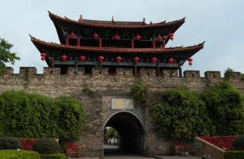 Dali ancient town in Yunnan province.