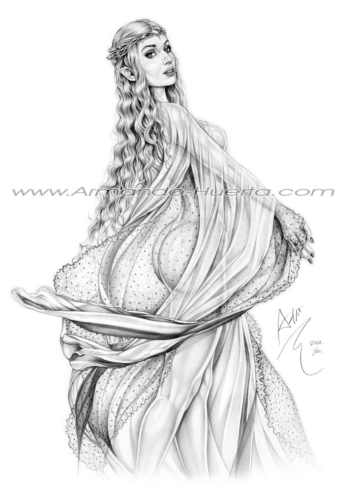 galadriel lord of the rings cate blanchett by
