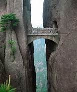 Bridge of Immortals, Huanghsan, China