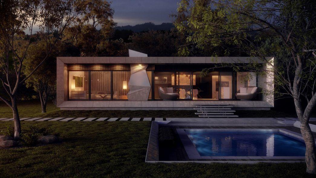 Image Result For Concrete House Plans Modern Simple Concrete House Modern House Plans Modern House Floor Plans