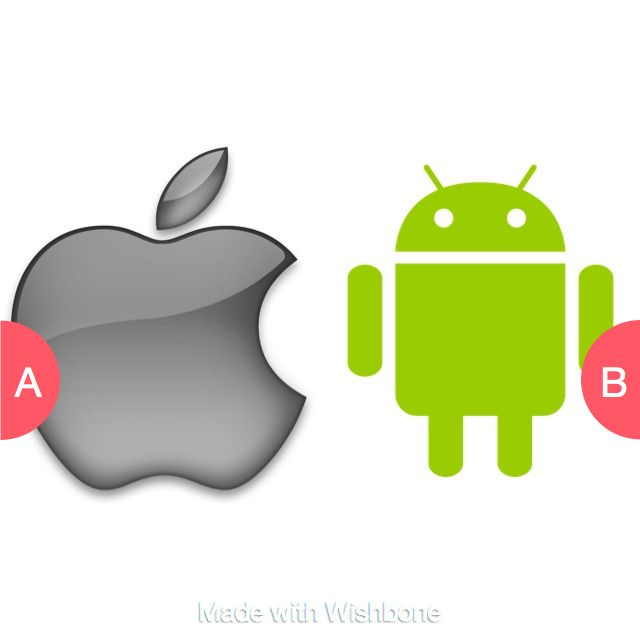 Apple or Android Click here to vote @ http://getwishboneapp.com/share/12267220
