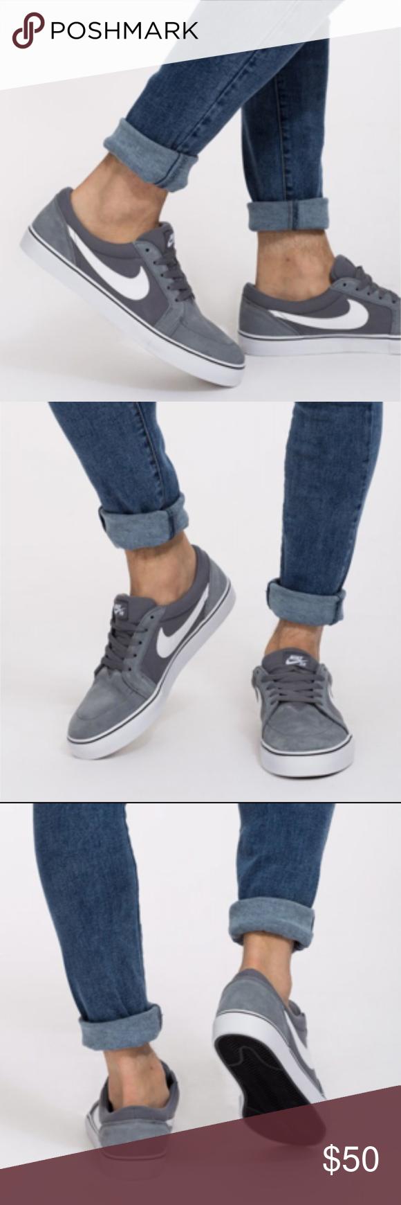 Nike Sb Satire Ii Men S Suede Skateboarding Shoes The Nike Sb