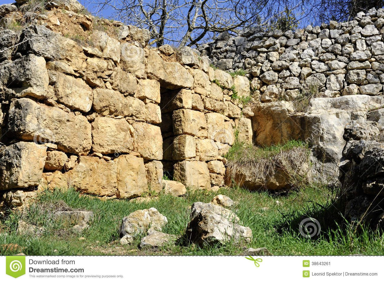 Ancient Jerusalem House | Ancient arabic house ruins near Jerusalem ...