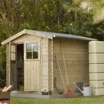 Abri de jardin bois Malo, 399 m² Ep19 mm Leroy Merlin Jardin - cerisier abri de jardin