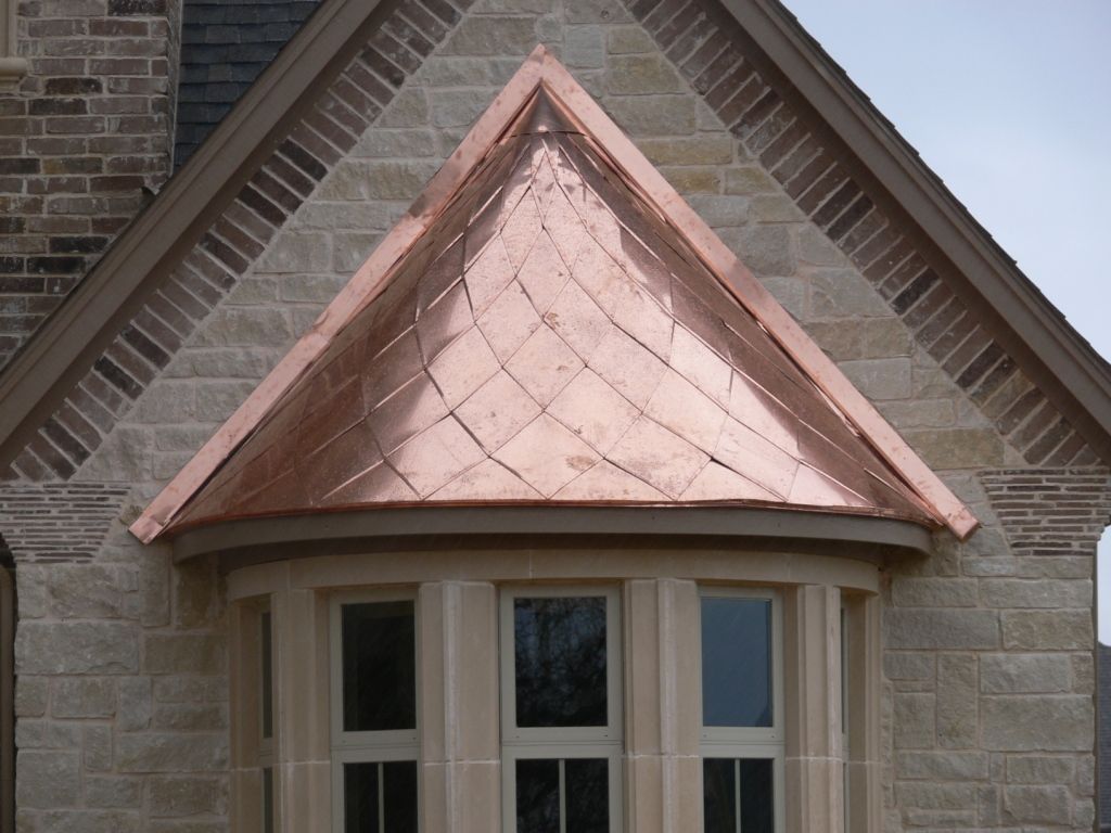 Copper Bay Window Awning Roanoke Swva Exteriorremodeling Baywindow Awning Exterior Remodel Copper Roof House Designs Exterior
