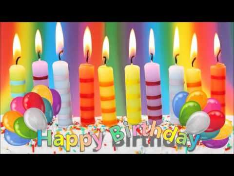 Happy Birthday Song With Candles Youtube Geburtstagslieder