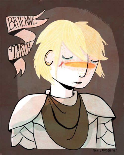 Brienne of Tarth by Nan Lawson