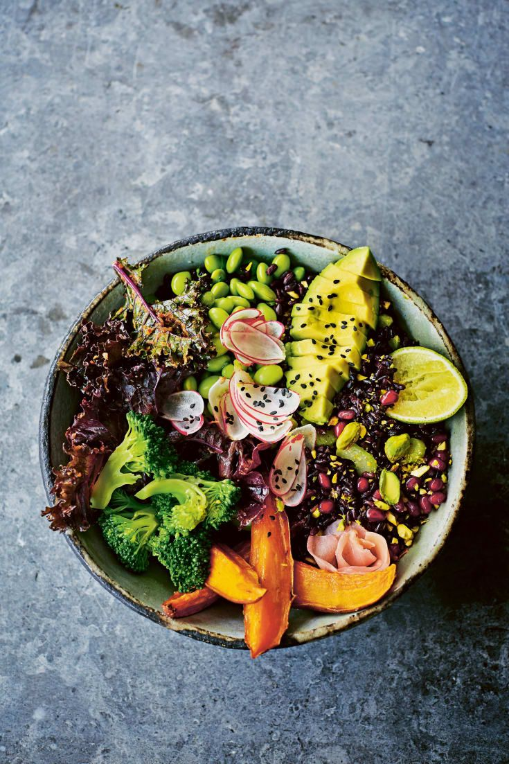 Photo of This Black Rice Buddha Bowl Will Detox Your Gut & Make Your Skin Glow