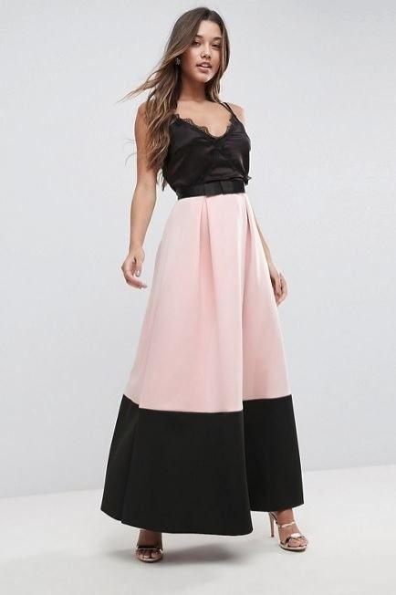 e06b1e488c Modelos de faldas largas para gorditas  faldas  gorditas  largas  modelos   modelosdeFalda