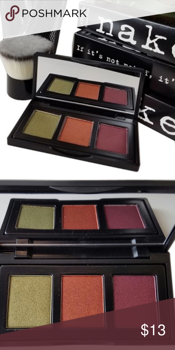 New! urban rustic trio pressed eyeshadow palette nwt (With