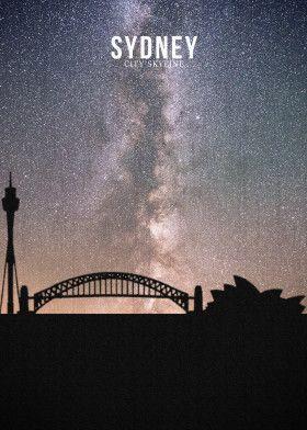 SYDNEY | Displate thumbnail