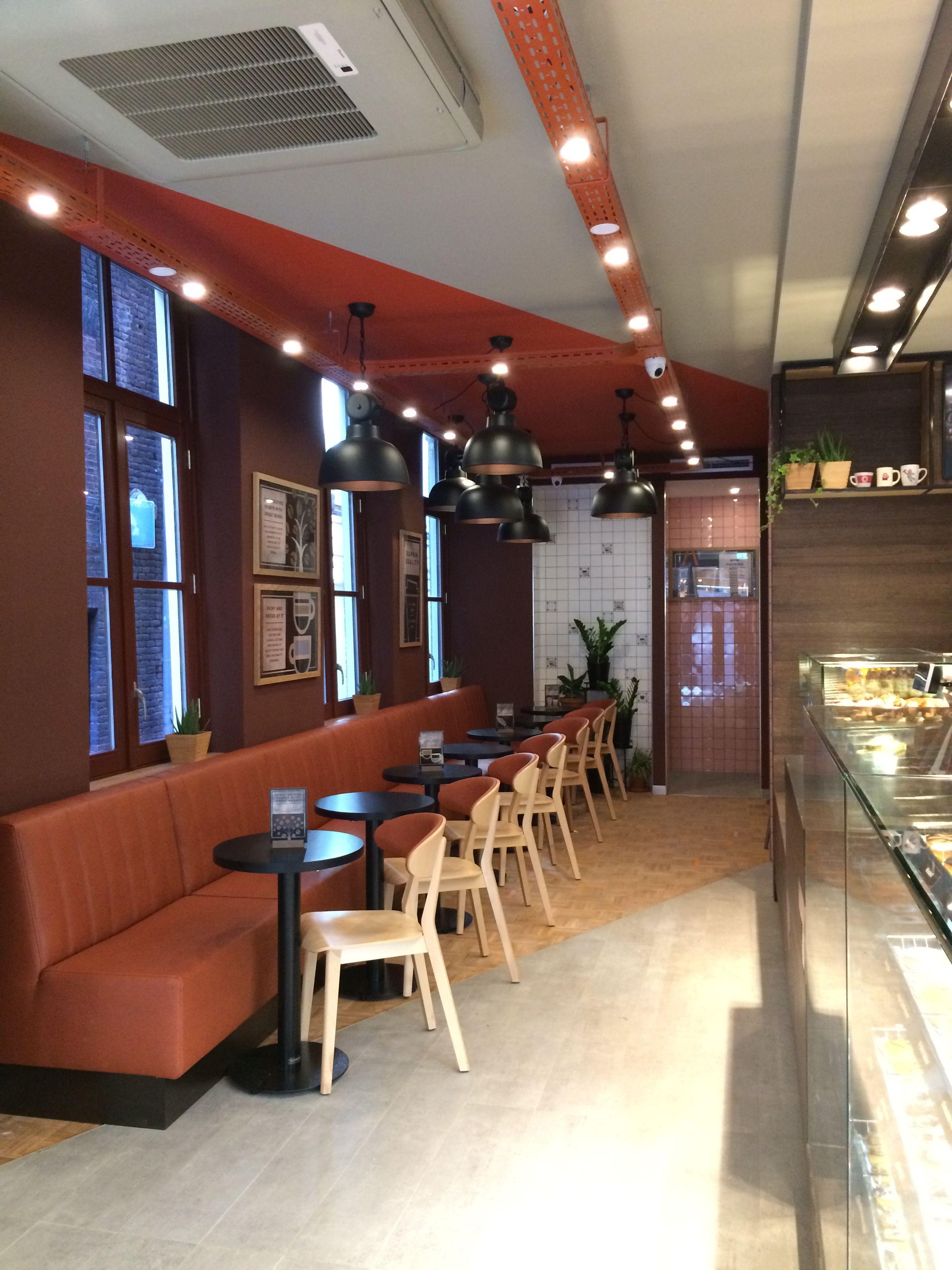 Dunkin Donuts amsterdam | inspiring cafes | Pinterest | Dunkin donuts