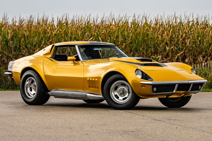 1969 Chevy Corvette Baldwin Motion Phase Iii Gt For Auction Man Of Many Chevy Corvette Corvette American Muscle Cars