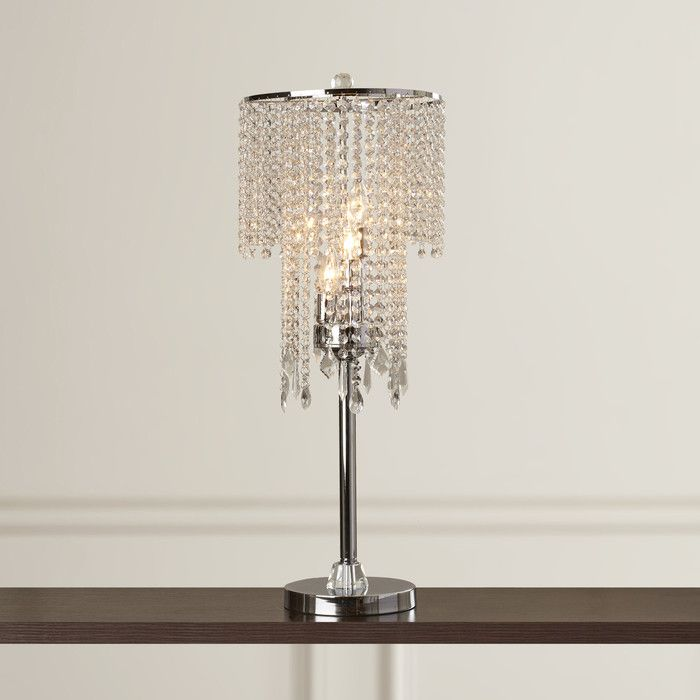 pixball com crystal table silver lamps lamp for l amazon bedroom wayfair ideas