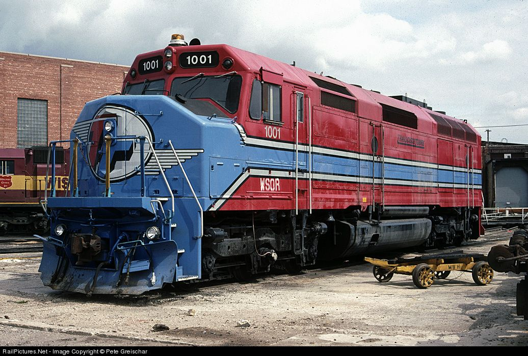 RailPictures.Net Photo: WSOR 1001 Wisconsin & Southern EMD F45 at N. Fond du Lac, Wisconsin by Pete Greischar