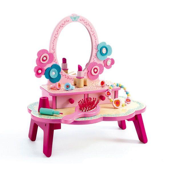 Gioco Di Imitazione Dressing Table Flora Djeco   L Orso Dado