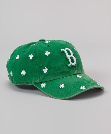 take a look at this green boston red sox shamrock baseball cap by century irish on zulily today