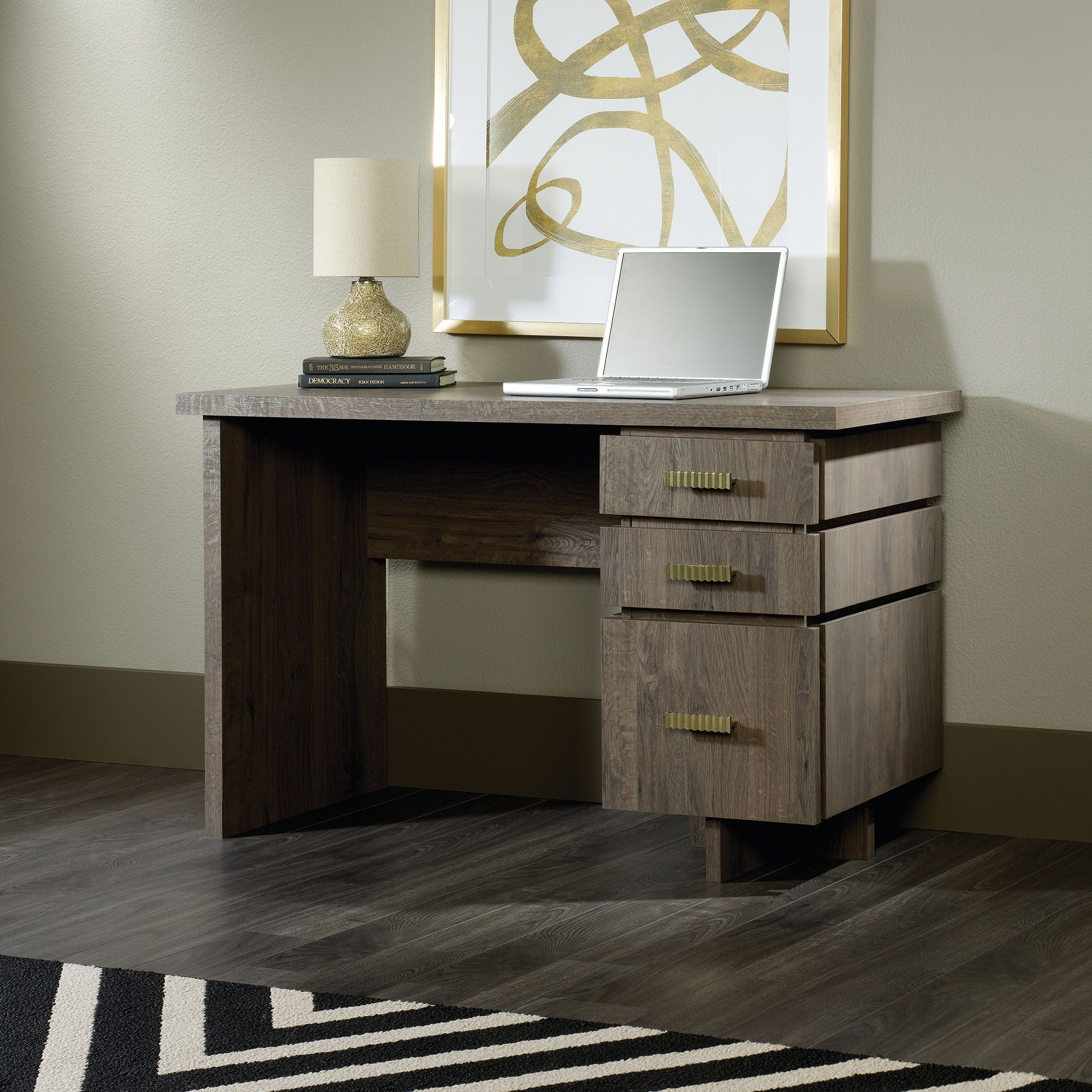shaped premium hutch computer with fond desk modern l in blanc oak barrel products white