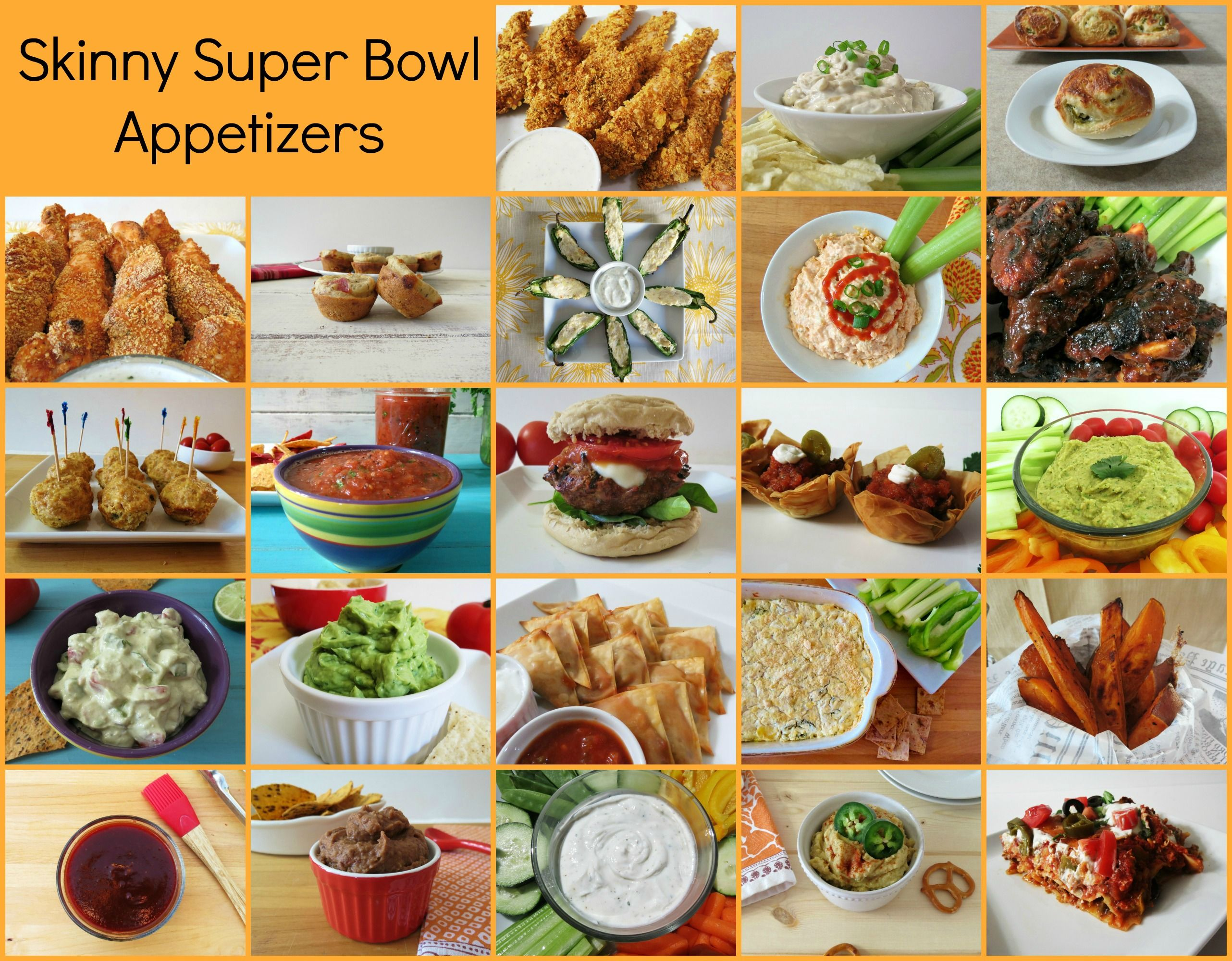 Skinny Super Bowl Etizers 2017 Season Not Sure What Your Making For The This Weekend I Have A Ton Of Recipes That Won T