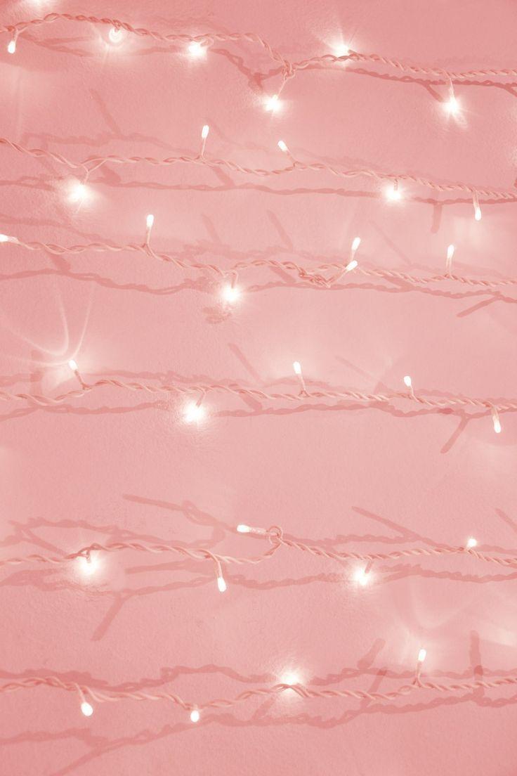 Pink With Twinkle Lights Wallpaper Resultado De Imagem Para Rosa Tumblr