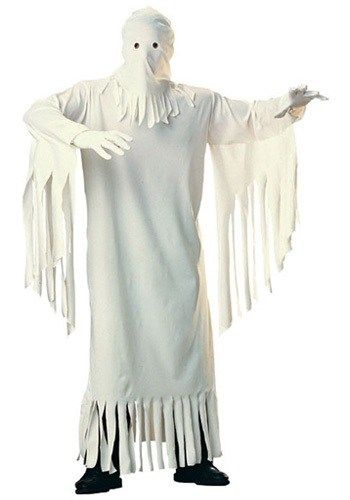 Adult Spooky Ghost Costume - Classic Halloween Costume Ideas - halloween ghost costume ideas