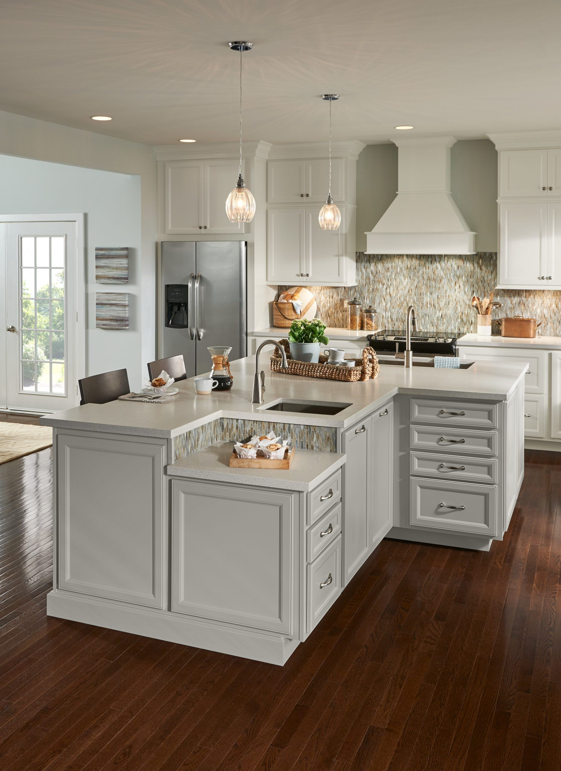 Kitchen Cabinet Ideas American Woodmark Cabinets In 2020 Cost Of Kitchen Cabinets Kitchen Cabinets Home Depot Custom Kitchen Cabinets