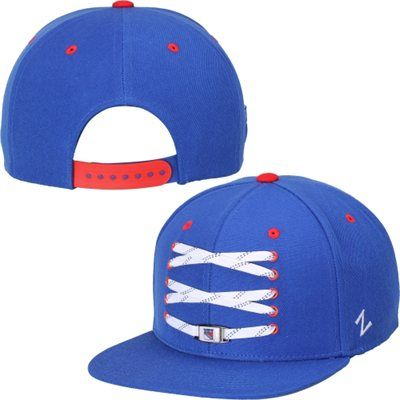 on sale 7eeaa a02c5 New York Rangers Zephyr Skate Lacer Adjustable Snapback Hat – Royal Blue