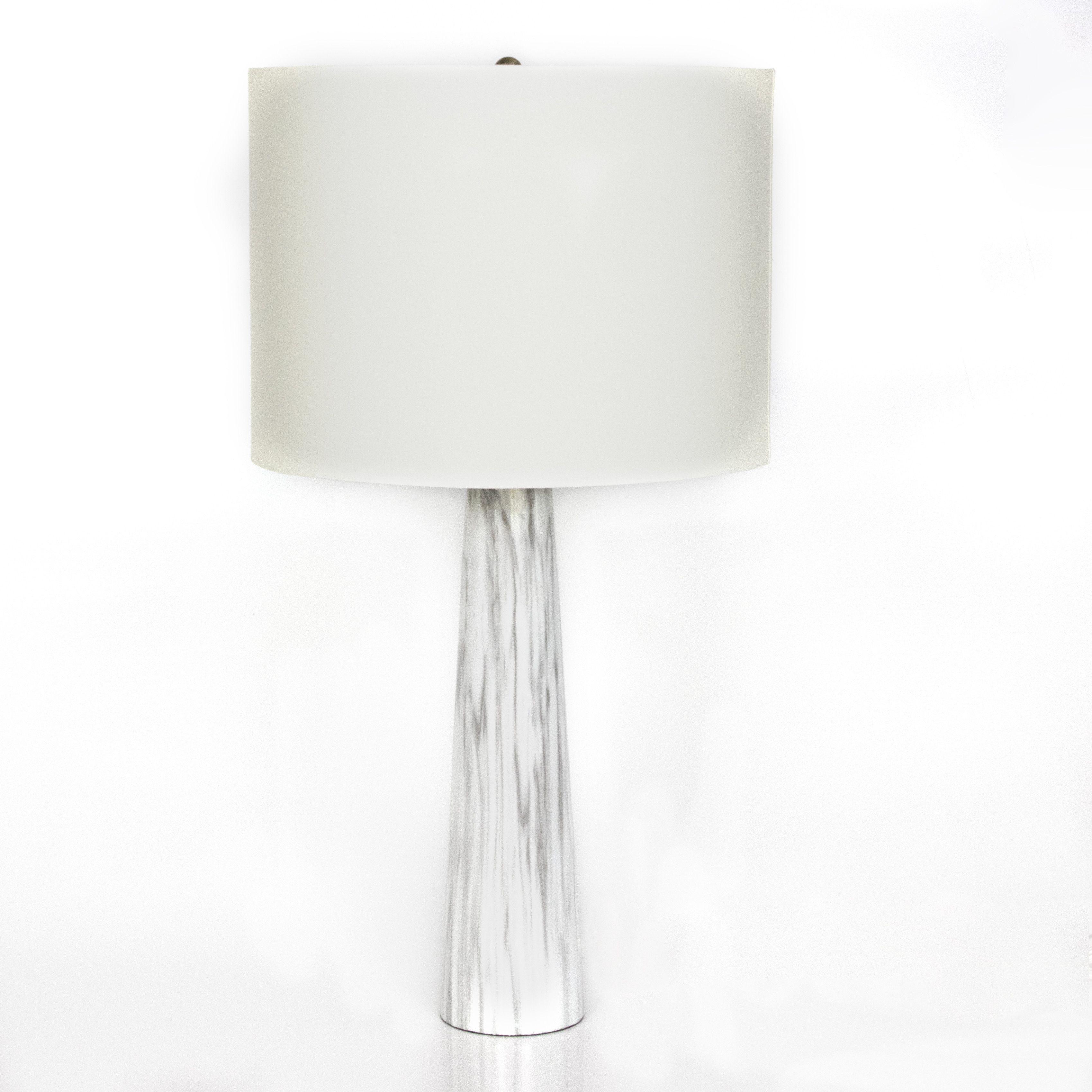 colorful lamp marble base vintage desafiocincodias