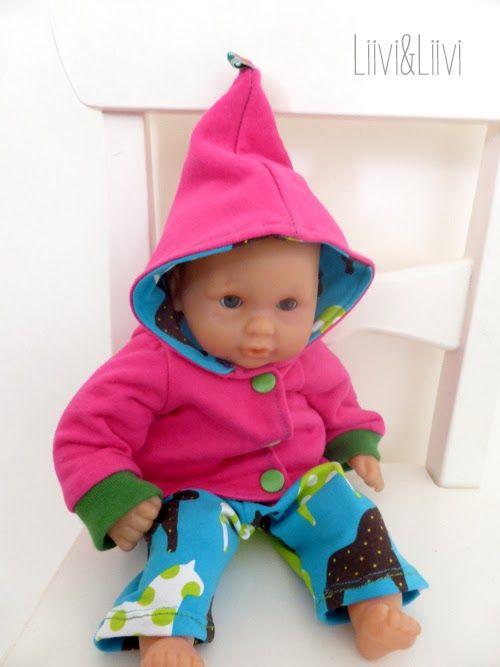 Puppenkleidung - Freebook … | Puppensachen | Pinte…