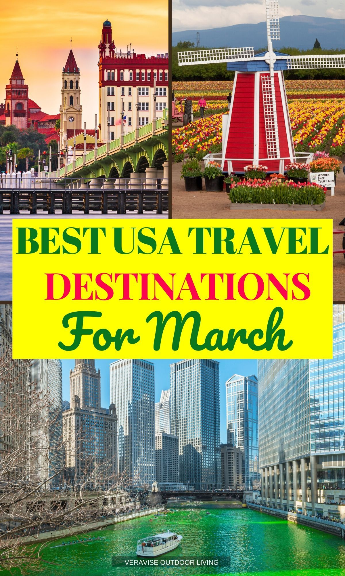 Best Places To Travel In March In The Usa For St Patty S Day Tulips And Adventure Best Places To Travel Places To Travel Family Travel Destinations