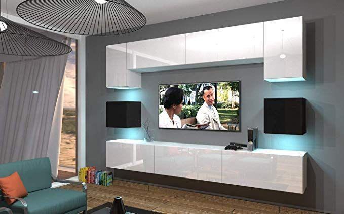 Home Direct NOWARA N1, Modernes Wohnzimmer, Wohnwände, Wohnschränke