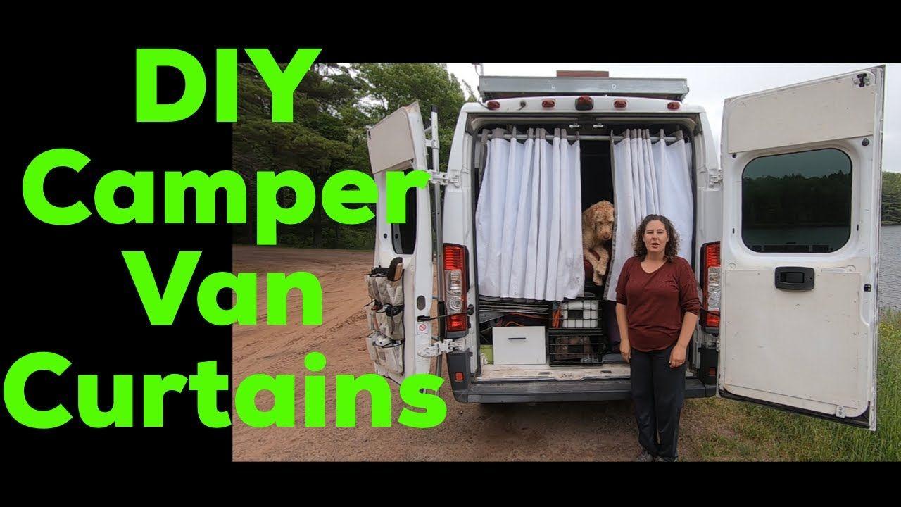 Diy blackout curtains for your van conversion diy