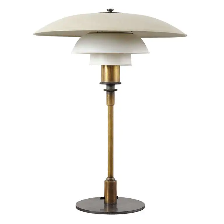 Poul Henningsen Ph4 3 Table Lamp Stampled Pat Appl Lamp Scandinavian Lamps Table Lamp