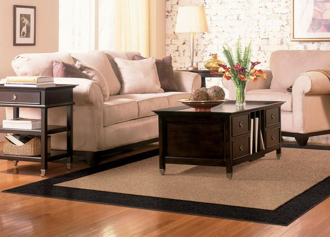 If You Re Using Hardwood Flooring Or Tile In Your Living Room Consider Area