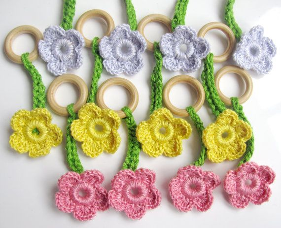 Girls Daisy Chain Playset Fairy Accessory by LittleLemonSweet, $26.00