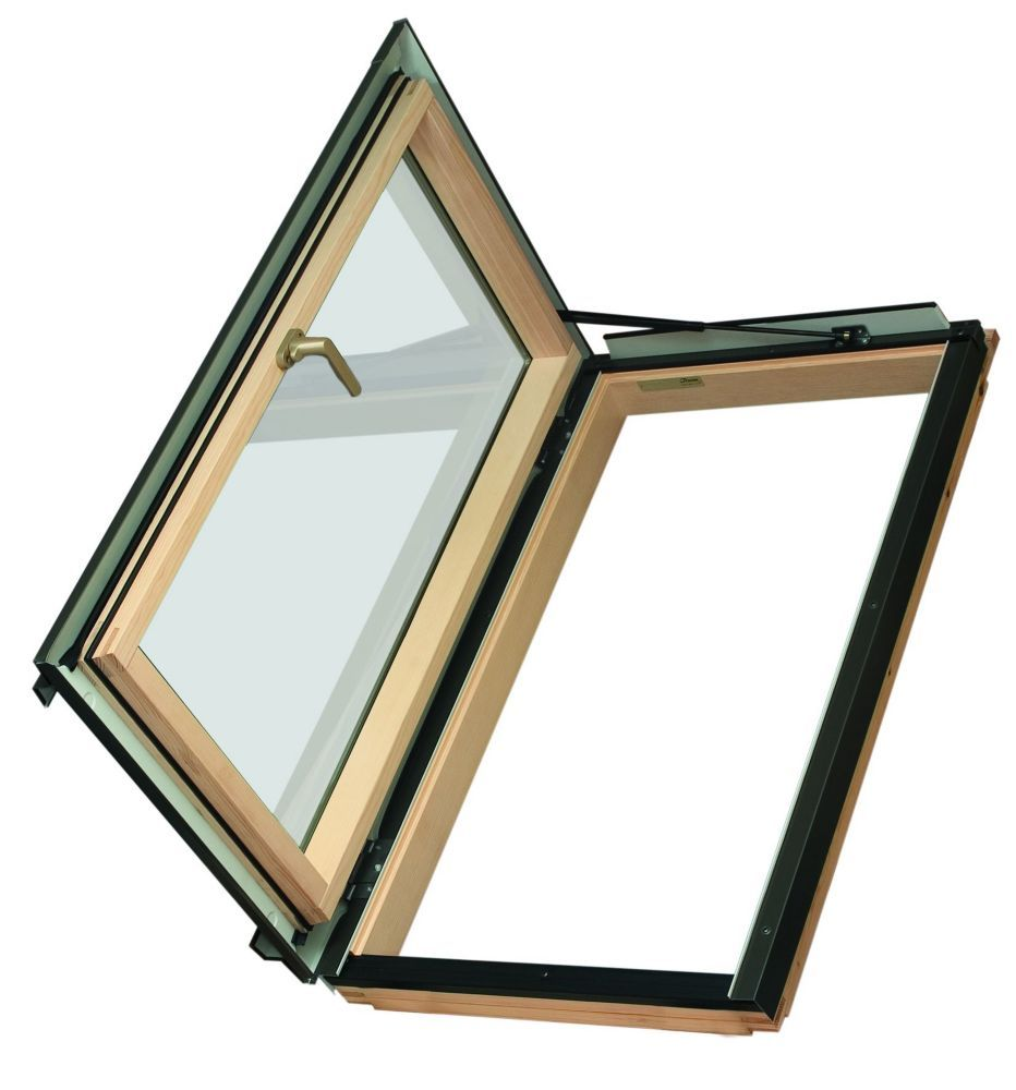24 Inch X 38 Inch Fwu L Left Opening Roof Access Window Energy Stara Egress Window