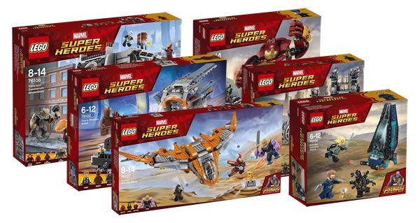 nouveaut s lego marvel avengers 2018 les visuels officiels sont en ligne lego marvel and legos. Black Bedroom Furniture Sets. Home Design Ideas