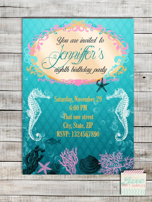 Pin By Luxe Party Supply On Digital Printable Invitations