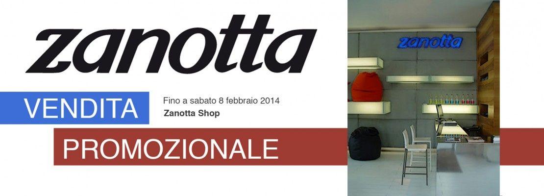 Zanotta, vendita promozionale fino all'8 febbraio