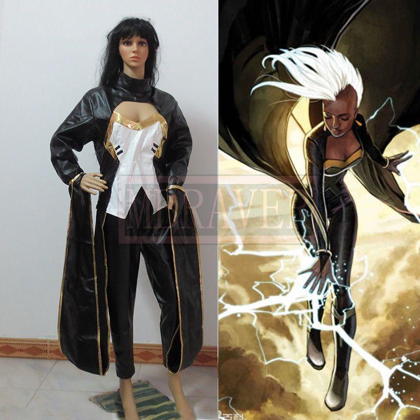 Click to Buy \u003c\u003c Movie Coser X-men Storm Ororo Munroe Cosplay Costume - halloween movie ideas