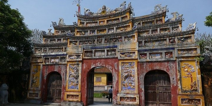 Imperial City, Hue, Northern Vietnam, Asia